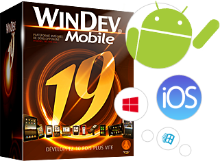 WINDEV Mobile vous permet de créer en quelques heures vos applications iOS, Android, Windows Phone, ...