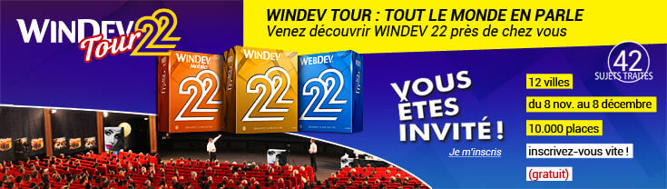 WINDEV Tour