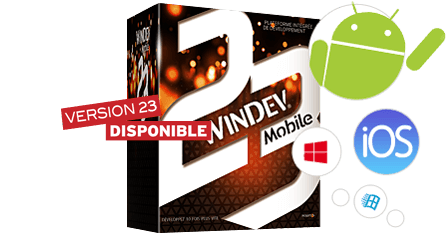 WINDEV Mobile : Développement Android, iOS, Windows 10 Iot, CE...