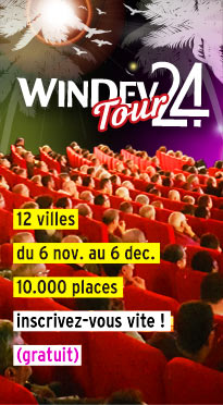 WINDEV TOUR 24