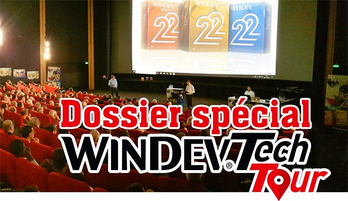 Dossier spécial WINDEV Tech Tour