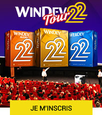 WINDEV TOUR 22 : Je m'inscris
