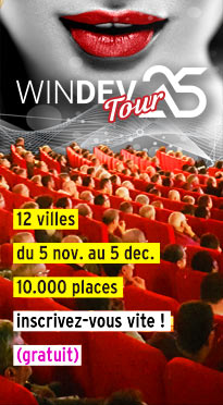 WINDEV TOUR 25